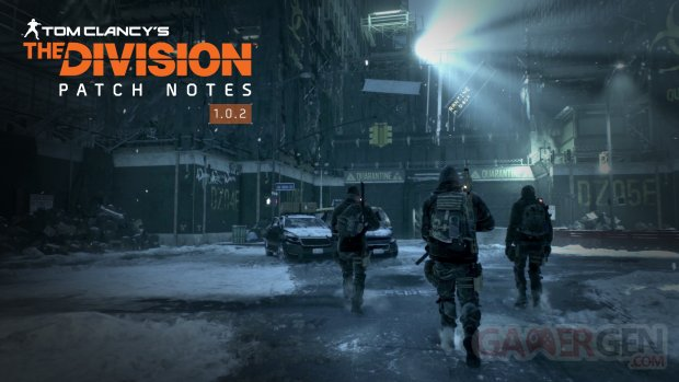 The Division Patch Notes 102