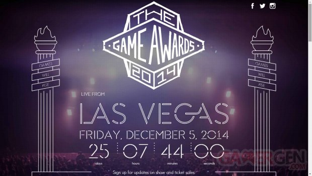 The Game Awards 2014 logo 1
