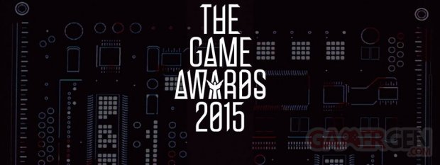 The Game Awards 2015 banner