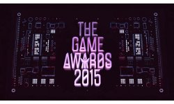 The Game Awards 2015 logo banner