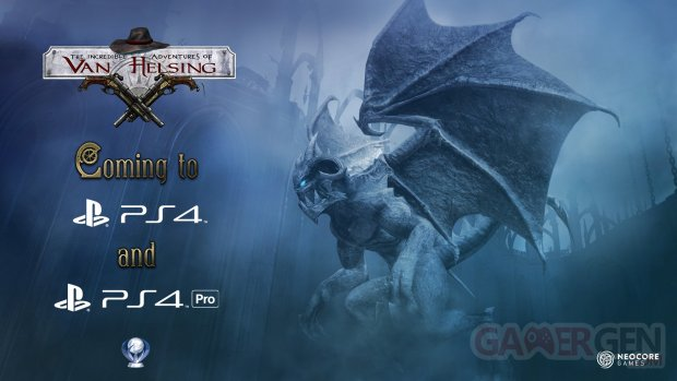 The Incredible Adventures of Van Helsing PS4 et PS4 Pro