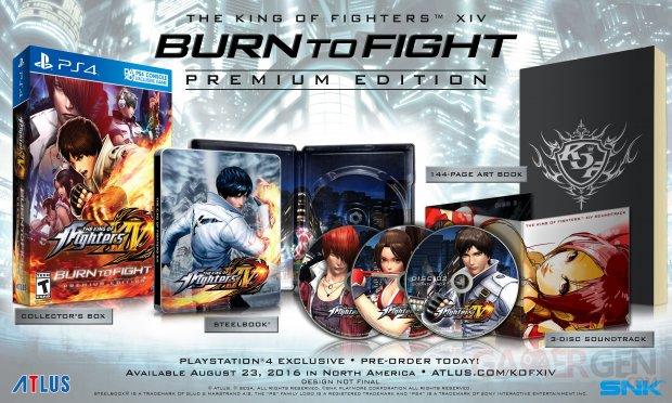 The King of Fighter XIV Premium Edition