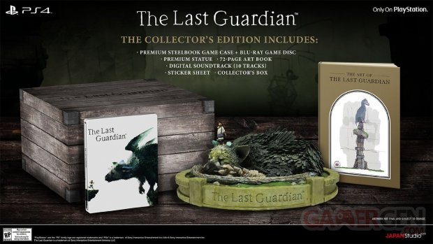 The Last Guardian collector E3 2016
