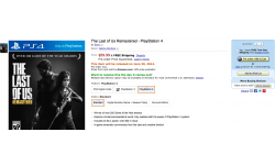 The Last of us Remastered Date Amazon