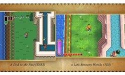 the legend of Zelda A Link Between Worlds comparaison 19.11.2013.
