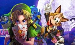 The Legend of Zelda Majora Mask 3D Famitsu
