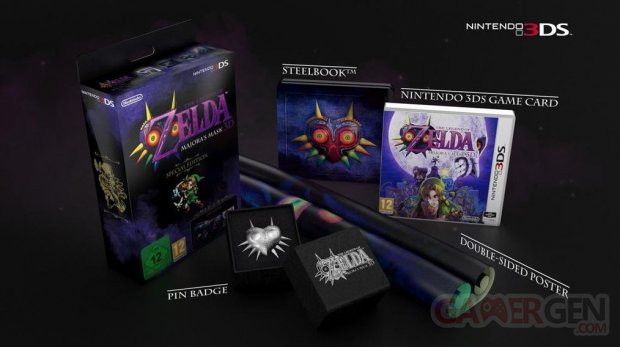 The Legend of Zelda Majora's Mask 3DS collector