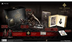 the order 1886 edition collector limitee date sortie figurine artbook 01