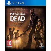 The Walking Dead jaquette PEGI PS4
