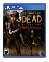 the walking dead season 2 jaquette boxart cover ps4
