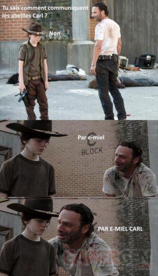 The Walking Dead troll