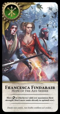 The Witcher 3 carte Gwent 1