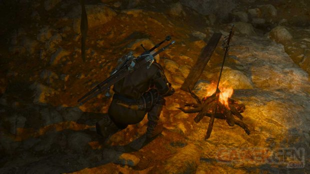 The Witcher 3 easter egg dark souls