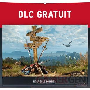 The Witcher 3 Wild Hunt 27 07 2015 DLC gratuit new game plus