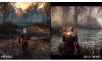 the witcher 3 wild hunt apercu downgrade graphique video 2013 2015 2014 comparaison graphique
