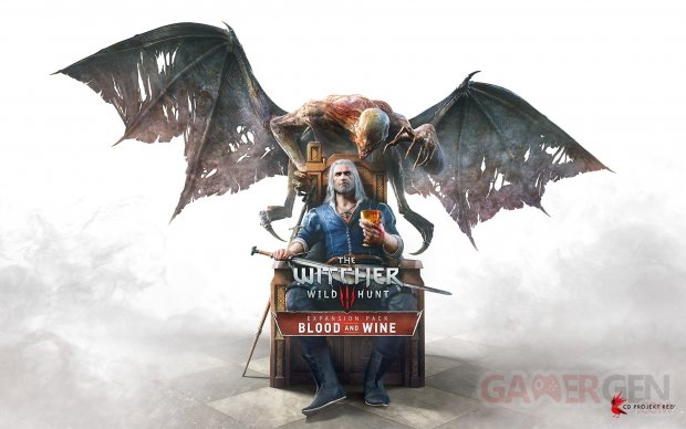 The Witcher 3 Wild Hunt Blood and Wine artwork