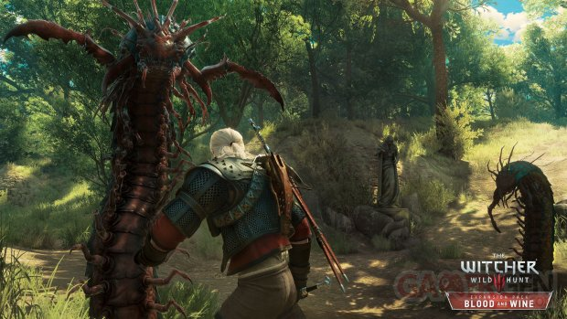 The Witcher 3 Wild Hunt Blood and Wine The Scolopendromorph    its harder to kill than to pronounce its name RGB EN