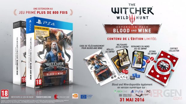The Witcher 3 Wild Hunt Blood Wine