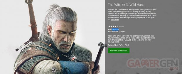 The Witcher 3 wild hunt taille installation 3