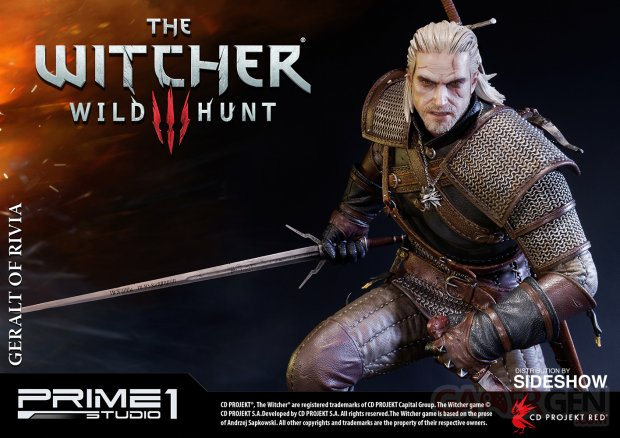 the witcher wild hunt geralt of rivia statue prime1 902851 13
