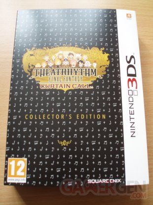 Theatrhythm Final Fantasy Curtain Call unboxing déballage photos 01