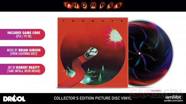 thumper vinyle drool collector