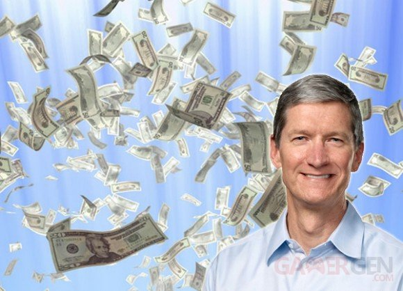 tim cook dollars