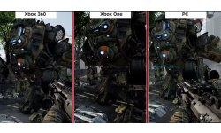 Titanfall Comparaison Vidéo