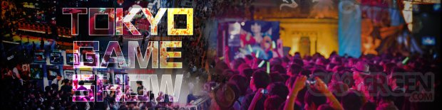 Tokyo Game Show 2016 head logo banner