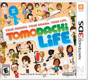tomodachi life cover boxart jaquette us 3ds