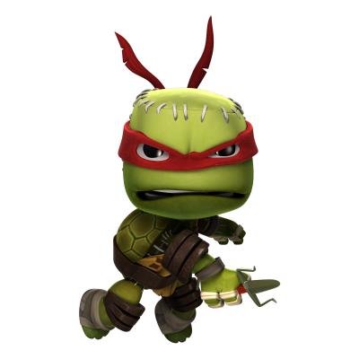 Littlebigplanet 3 des tenues tortues ninja mignonnes croquer sont disponibles gamergen com - Tortue ninja orange ...