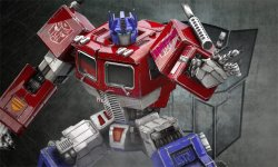 Transformers Rise of the Dark Spark Optimus Prime head