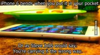 Trolls de la semaine iphone 6 bendgate 9