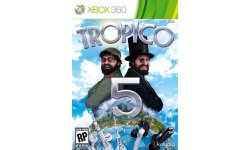 Tropico 5 PEGI jaquette Xbox 360