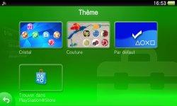 TUTO - PSVita / PlayStation TV : comment installer, changer ou supprimer un thème du Live Area ?