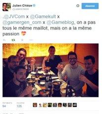 tweet gameblog kabuto rider julien chièze