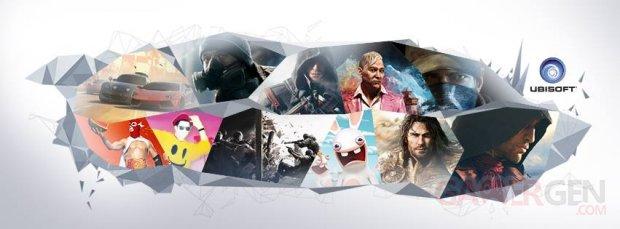 Ubisoft line up 2014 banner