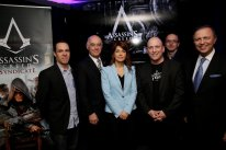 ubisoft quebec assassin creed syndicate conference presse annonce photos launch party   16