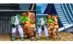Ultra Street Fighter II: The Final Challengers - Comparaisons visuelles entre rendu HD et old school