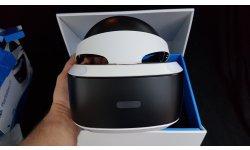 Unboxing PSVR PlayStation VR casque Sony réalité virtuelle 0051