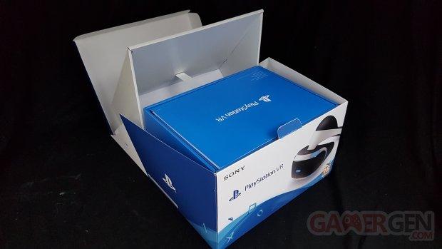 Unboxing PSVR PlayStation VR casque Sony réalité virtuelle 0008