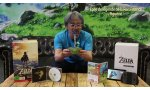 unboxing the legend of zelda breath of the wild eiji aonuma deballage edition limitee video