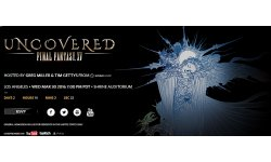 Uncovered Final Fantasy XV Live Streaming
