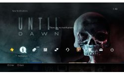 Until Dawn the?me PS4