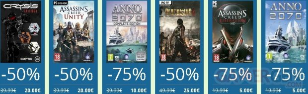 Uplay Summer Sales Ubisoft Soldes