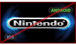 vignette Nintendo iOS Android pas de jeux