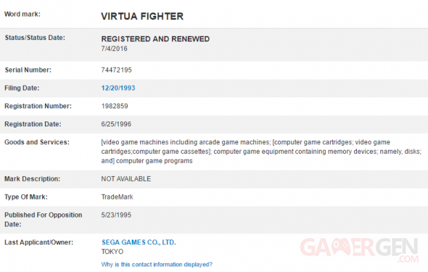 Virtua fighter renew