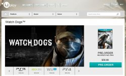 Watch Dogs version Wii U uplay