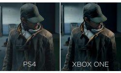 Watch dogs vidéo compasraison Xbox One PS4