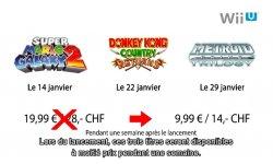 Wii eshop sortie prix